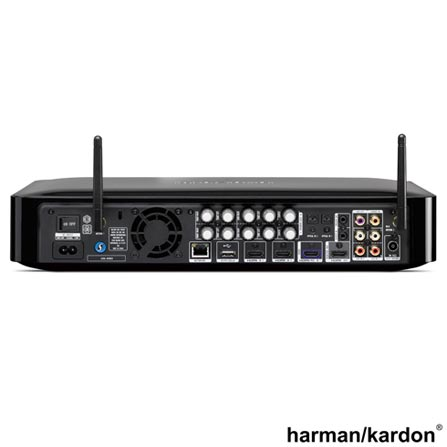 Receiver Harman Kardon com Blu-ray 3D, 5.1 Canais e 325 W - BDS 580BQ/120-A4, Bivolt, Bivolt, 5.1, 325 W, Sim, Não, 12 meses