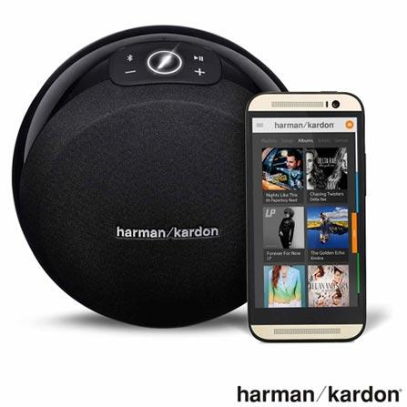 Caixa Acústica Wireless Harman Kardon Omni 10 com Potência de 50 W RMS - HKOMNI10 + Adaptador Harman Kardon - jack P2, 1