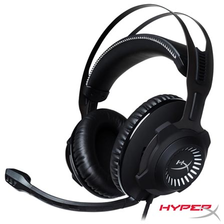 Fone de Ouvido Headset Gamer Cloud Revolver Pro Gaming Hyperx Hx-hscr-gm