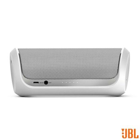 Caixa de Som Bluetooth com NFC e USB Branca JBL - L28910513, Bivolt, Bivolt, Branco, 12 meses