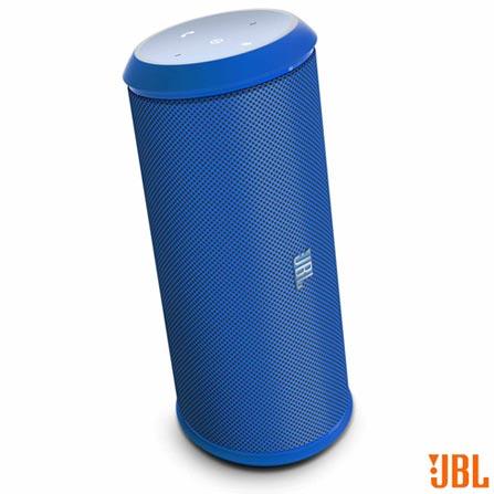 Caixa de Som Bluetooth com NFC e USB Azul JBL - 28910515, 110V, 220V, Bivolt, Bivolt, Azul, Sim, 12 W, Não, Não, 12 meses