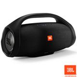 Caixa de Som Bluetooth JBL com 60W de Potência, Boombox Preta - LBOOMBOX