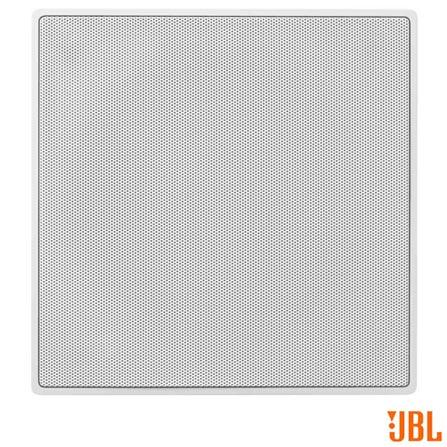 Caixa Acústica JBL de Embutir, Quadrada, com Potência de 120 W RMS - CI6S, Branco, Caixa Acústica Interna, Não se aplica, Não, 120 W, Não, Não, 8 Ohms, 40 hz a 20 khz, Não, 12 meses