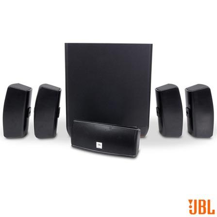 Caixas Acústicas JBL com Potência de 560 W - LCINEMA610, Bivolt, Bivolt, Preto, 5.1, Não, 560 W, Não, Não, 8 Ohms, 46 Hz a 20 kHz, Não, 12 meses