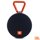 Caixa de Som Bluetooth JBL Clip 2 com Potência de 3W Preta - CLIP2