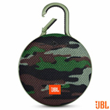 Caixa de Som Bluetooth JBL com Potência de 3,3 W para iOS, Android e Windows Phone Camuflado - CLIP3