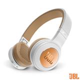 Fone de Ouvido JBL Duet BT Headphone Branco e Dourado - JBLDUETBT