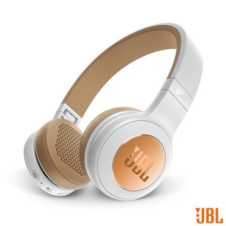 , Branco e Dourado, Headphone, 12 meses