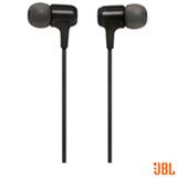 Fone de ouvido JBL In Ear Intra-auricular Preto - JBLE15BLK