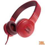 Fone de Ouvido JBL Headphone Vermelho - JBLE35RED