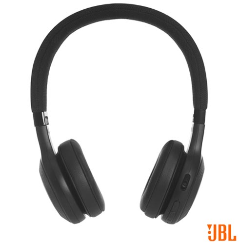 Fone de Ouvido Sem Fio JBL On Ear Headphone Preto - JBLE45BTBLK, Preto, Headphone, 12 meses