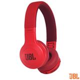 Fone de Ouvido Sem Fio JBL On Ear Headphone Vermelho - JBLE45BTRED