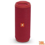Caixa de Som Bluetooth JBL com Potência de 16W para iOS e Android Vermelho - FLIP4
