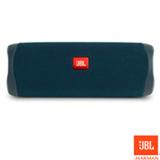 Caixa de Som Bluetooth JBL Flip 5 com 20W para Android, iOS e Windows Phone Azul
