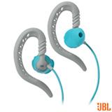Fone de Ouvido JBL Focus 100 Intra-Auricular Azul e Branco - JBLFOCU100TEL