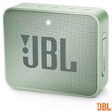 Caixa Bluetooth JBL GO2 Azul Verde e Cinza com Potência de 3 W - JBL