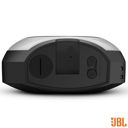 Rádio Relógio JBL com USB, Bluetooth, FM e Despertador Multissensorial com Luz de LED - JBL Horizon, Bivolt, Bivolt, Preto, FM, 12 meses, Rádio, Não