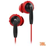 Fone de Ouvido JBL Inspire 100 Intra-Auricular Vermelho e Preto - JBLINSP100RNB