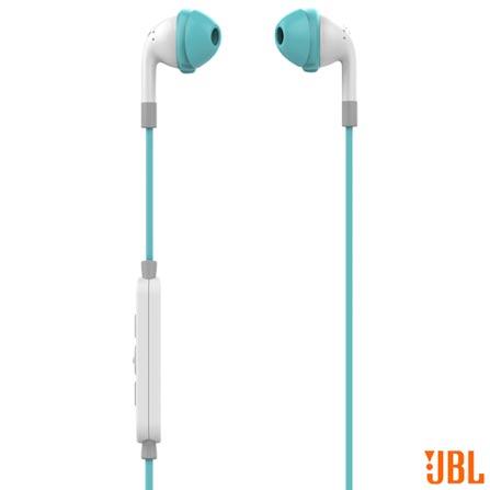 Fone de Ouvido Sem Fio JBL Inspire 500 Intra-Auricular Azul e Branco - JBLINSPIRE500AQUA, Azul e Branco, Headphone, 12 meses