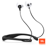 Fone de Ouvido Esportivo Sem Fio JBL Reflect Fit Intra-Auricular Preto - JBLREFFITBLK