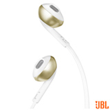 Fone de Ouvido Bluetooth JBL Tune 205BT Intra-Auricular Champagne - JBLT205BTCGD