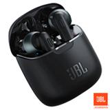 Fone de Ouvido JBL Tune 220 TWS Intra-auricular Preto - JBLT220TWSBLK