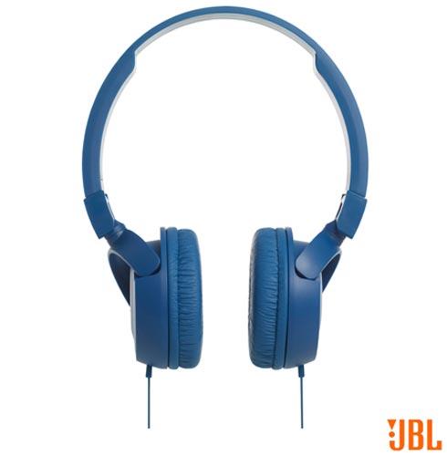 Fone de Ouvido JBL On Ear Headphone Azul - T450, Azul, Headphone, 12 meses