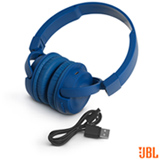 Fone de Ouvido JBL On Ear Headphone Azul - JBLT450BTBLU