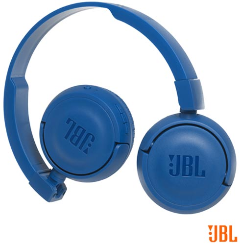 Fone de Ouvido JBL On Ear Headphone Azul - JBLT450BTBLU, Azul, Headphone, 12 meses