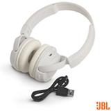 Fone de Ouvido Sem Fio JBL On Ear Headphone Branco - JBLT450BTWHT