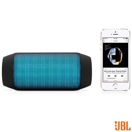 Caixa Acústica Pulse com Bluetooth e Frequência 100Hz a 20KHz JBL, Bivolt, Bivolt, Preto e Verde, 12 meses