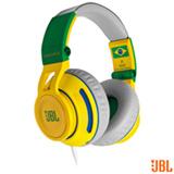 Fone de Ouvido On Ear com Almofadas de Espuma Verde e Amarelo - JBL - SYNCHROSS500
