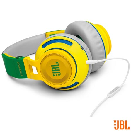 , Verde e Amarelo, Headphone, 12 meses