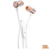 Fone de Ouvido JBL Intra-auricular Rosê - T290