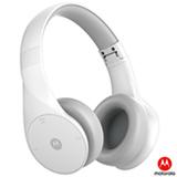 Fone de Ouvido Wireless Motorola com Bluetooth Headphone Branco - Pulse Escape