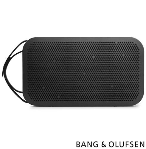 Caixa Acústica Bluetooth Bang & Olufsen com Potência de 180 W Preto - BeoPlay A2, Bivolt, Bivolt, Preto, Caixa Acústica Externa, Não se aplica, Sim, 180 W, Não, Sim, Não especificado, 55  - 24.000 kHz, Não, 24 meses