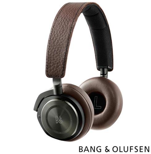 Fone de Ouvido Bang & Olufsen Headphone Gray Hazel - H8, Marrom, Headphone, 24 meses