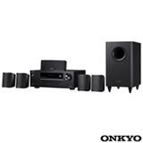 Receiver Onkyo com 5.1 Canais, 105 W por canal, HDMI e USB - HT-S3800