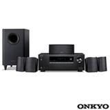Home Theater Onkyo com 5.1 Canais, 60 W por Canal, HDMI e USB - HT-S3900