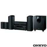 Sistema de Home Theater Onkyo com 5.1.2 canais, 660 W, Porta STRM Box e USB- HT-S5800