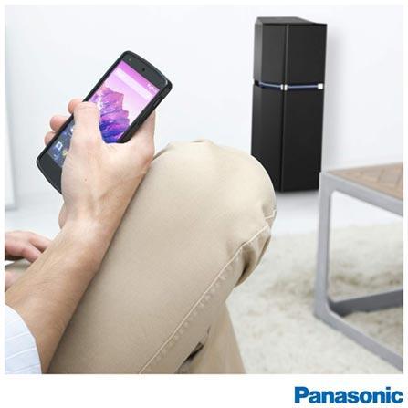 Torre de Som Expandido Panasonic com Bluetooth, NFC, USB e 1400W - SC-UA7LB-K, Bivolt, Bivolt, Preto, Não, Sim, Sim, Não, Sim, 1400 W, Sim, Não, Não, Sim, 12 meses, Sim, 1