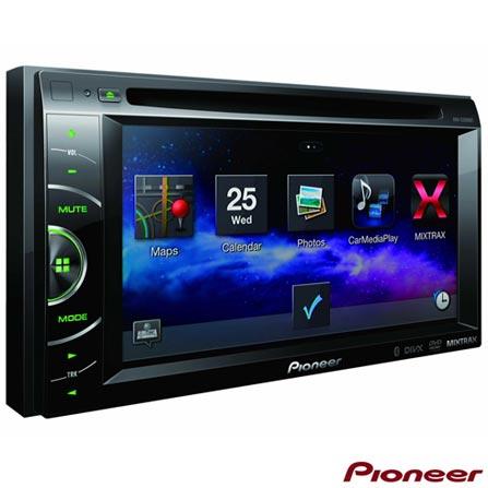 DVD Player Automotivo Pioneer com Bluetooth, Entrada USB e Potência de Saída de 23W - AVH-X2680BT, Sim, Não, Sim
