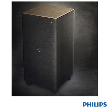Caixa Acústica Philips Fidélio E5 com 4.1 Canais, conexão Bluetooth, Wireless e 210 W - CSS7235Y/12, Bivolt, Bivolt, Preto, 12 meses