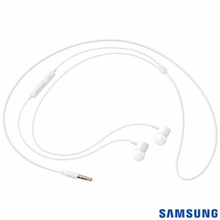 Fone de Ouvido com Fio Estereo com Controle Branco Samsung - EO-HS1303WEGBR, Branco, Intra-auricular, 03 meses