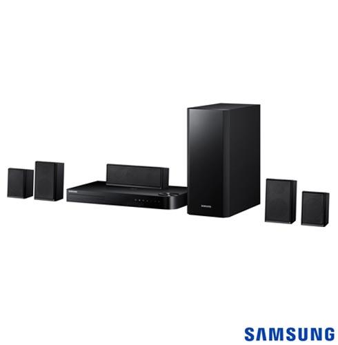 Home Theater Samsung com Blu-Ray 3D, 5.1 canais e 1000 W - HT-F5505K, Bivolt, Bivolt, Preto, Sim, Sim, Não, 5.1, Sim, Não, Não, 12 meses, 1000 W, Sim, Blu-ray 3D Player, Sim