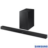 Soundbar Samsung com Subwoofer Sem Fio, 2.1 Canais e 300W - HW-K450/ZD