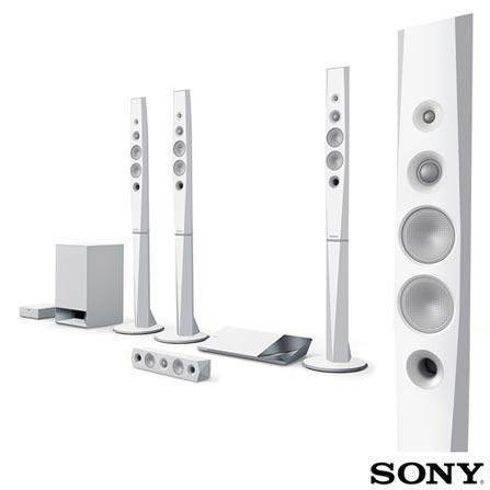Home Theater Sony com Blu-ray 3D, 5.1 Canais, 1000W - BDV-N9200WL, Bivolt, Bivolt, Branco e Grafite, Sim, Sim, 5.1, Sim, Sim, Não, 12 meses, 1000 W, Sim, Blu-ray 3D Player, Sim, Sim