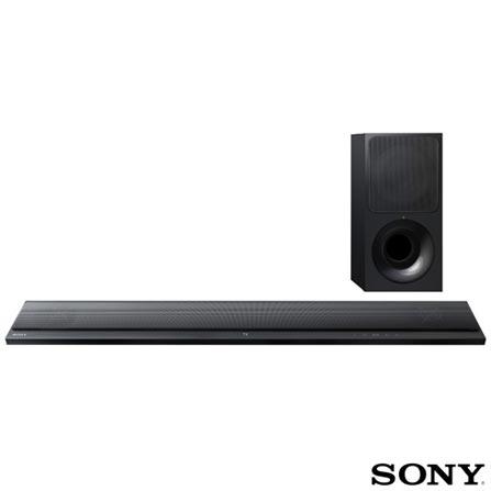 Soundbar Sony com 2.1 Canais e 180W - HT-CT390, Bivolt, Bivolt, Preto, Não, Sim, Sim, Não, 12 meses, 180 W, Sim, 2.1, Não