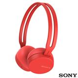 Fone de Ouvido Sem Fio Sony CH400 Headphone Vermelho - WH-CH400/RZ