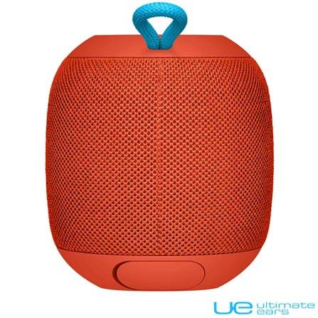 Caixa de Som Bluetooth Ultimate Ears Wonderboom com Potência de 10 W Vermelha - 984-000847, Bivolt, Bivolt, Vermelho, Sim, 10 W, Não, Não, iOS e Android, 24 meses